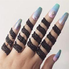Gorgeous Indian mehndi designs for hands this wedding season - Henna - Henna Designs Hand Henna Hand Designs, Eid Mehndi Designs, Finger Mehendi Designs, Simple Arabic Mehndi Designs, Mehndi Designs For Girls, Mehndi Designs For Beginners, Modern Mehndi Designs, Mehndi Designs For Fingers, Mehndi Design Photos
