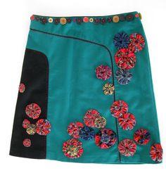 Thread and Thrift: Suffolk Puff Skirt