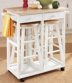 Kitchen Island Breakfast Bar from Ginny's ® (PDIY)