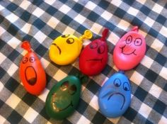 Stress ball balloons.  Therapeutic, form of distraction, anxiety release by melody