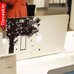 Decal for Macbook Pro, Air or Ipad Stickers Macbook Decals Apple Decal for Macbook Pro / Macbook Air 1028. $8.99, via Etsy.