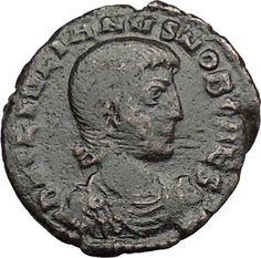 Julian II as Caesar 355AD Ancient Roman Coin Battle Phrygian Horse man i32773