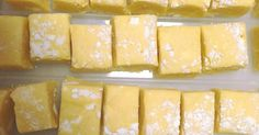 Recipe Lemon Meringue Fudge by learn to make this recipe easily in your kitchen machine and discover other Thermomix recipes in Baking - sweet. Daycare Gifts, Cake Stall, Yellow Food Coloring, Kitchen Machine, Yellow Foods, Square Cakes, Cake Tins, Fudge Recipes, Meringue