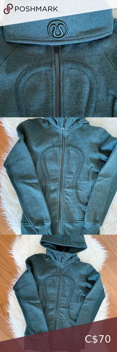 Lululemon Scuba hoodie Lululemon Scuba Hoodie Size 2, Fuel Green Worn only a few times, in like-new condition Stretch side panels and thumbholes Thick, warm fleece fabric lululemon athletica Tops Sweatshirts & Hoodies Plaid Hoodie, Green Zip Ups, Blue C, Lululemon Scuba Hoodie, Side Panels, Long Jackets, Double Knitting, Fleece Fabric
