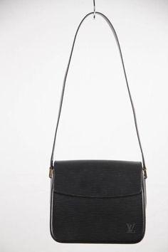 0197e0bb5955 LOUIS VUITTON Black Epi Leather BUCI SHOULDER BAG  Louisvuittonhandbags Louis  Vuitton Handbags