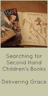 delivering grace: Searching for Second hand Children's Books