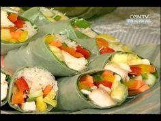 월남쌈 @ 최신애의 행복한 식탁 - YouTube Korean Food, Fresh Rolls, Ethnic Recipes, Ideas, Korean Cuisine, Thoughts
