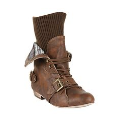 These would look good with gaucho trousers and a vest, suspenders, and maybe a fedora.  And a toothpick.