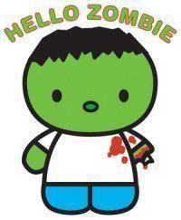 Heard of Hello Kitty say HELLO to Hello Zombie