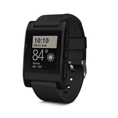 cool Pebble Smartwatch for iPhone and Android (Black) - For Sale