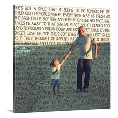 Personalized Holiday Gift Photo for Dad for by GeezeesCustomCanvas