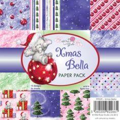 6x6 Paper Pack - Xmas Bella