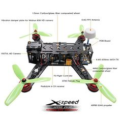 This is assembled BNF version, customers need to have your own transmitter and battery. Search this ASIN to get RTF version: The angle of the FPV camera on it is adjustable degree to Racing Drones For Sale, Drone For Sale, Bnf, Search, Searching