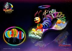 """Disney Paint the Night Parade"" - Toy Story Unit  #HongKongDisneyland #hkdisneyland #HKDL #Parade #NightParade #DisneyPainttheNightParade #DisneyPainttheNight"