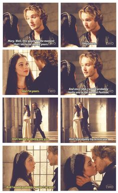 Frary feels :DDD reign is my new addiction.. francis and mary need to be together 5eva