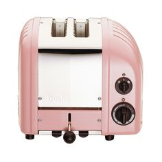 Fab.com | Classic 2 Slice Toaster Pink    You know I would totally put this in my kitchen. Right next to my pistachio Kitchenaid. It would be awesome.