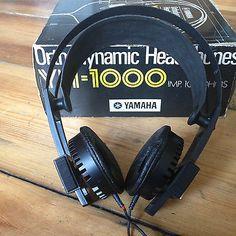 Legendary Yamaha YH-1000, Orthodynamic, Planar Magnetic, Headphones, 1970's