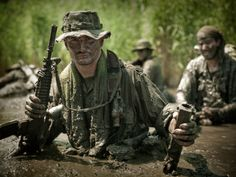 MACVSOG elite soldier in the Vietnam war