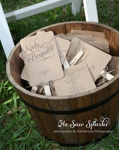 Wedding fans; going to need these I think