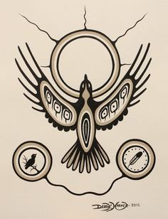 Flight to the Sun. Native American Images, Native American Artists, American Indian Art, Aboriginal Language, Aboriginal Art, Tribal Wolf Tattoo, Tribal Art, Native Art, Native Symbols