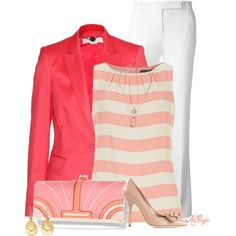 """Classic Spring Office Style"" by kginger on Polyvore"