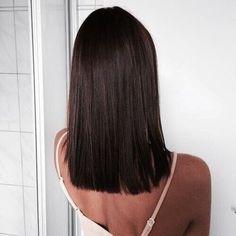 corte de cabelo blunt cut reto 2018