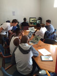 Young inventors dreaming up new possibilities with Fusion 360 at the Vision Afrika Tech Day