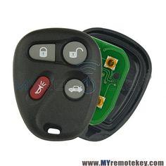 Saturn Outlook Buick Enclave Remote Control Door Lock Transmitter Black new OEM