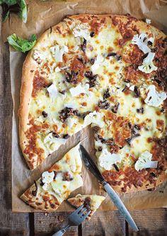 Sieni-kukkakaalipizza - Sieniruuat - Reseptit - Helsingin Sanomat