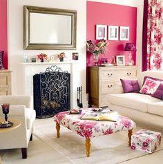 Girly living room!