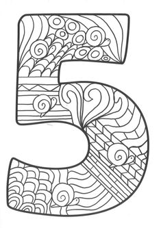Colouring Pages, Coloring Sheets, Pintar Disney, Coloring Letters, Math For Kids, Egg Decorating, Diy Garden Decor, Zentangle, Doodles