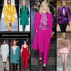 Single Color Outfits - The Cut