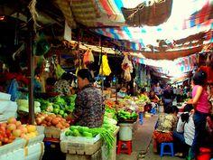 cambodian market