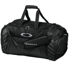 Oakley Large Sport Duffle Bag - Black