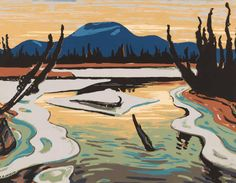 'River, Alaska Highway' | The Sampson-Matthews Prints