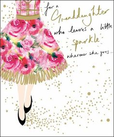 Family Birthday Greeting Cards Verses For Granddaughter