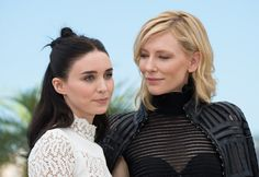 """Carol"" 2015 starring Rooney Mara and Cate Blanchett.  'Flung out of Space'"