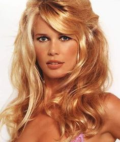 Claudia Schiffer Claudia Schiffer, Beautiful Models, Most Beautiful Women, Simply Beautiful, Stunning Women, Blonde Babies, Hair Up Or Down, Celebrity Stars, In Pantyhose