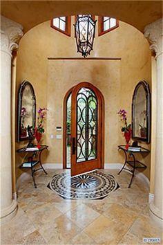 cool wrought iron door