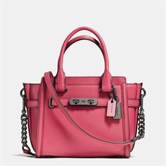 2a099a92ccfbb COACH Swagger 21 in Glovetanned Leather Coach 2017