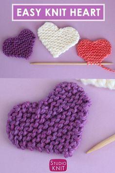 Beginner Knitting Patterns, Easy Knitting Projects, Yarn Projects, Knitting For Beginners, Loom Knitting, Knitting Stitches, Free Knitting, Knitting Needles, Crochet Patterns
