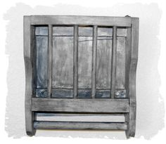 Wooden Magazine Rack Primitive OOAK by JoyfulMoonDesigns on Etsy, $39.00