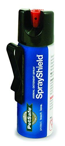 2fa86e70096 PetSafe SprayShield Animal Deterrent with Clip, Citronella Spray up to 12  ft, Protect Yourself and Your Pets    Details can be found by clicking on  the ...