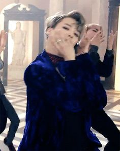 Jimin, that voice,  he can DANCE and loves to mess with Jin lol oh and is easily embarrassed lol