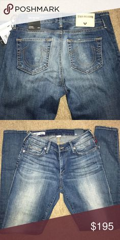 True Religion Curvy Skinny Jeans True Religion Jennie Curvy skinny jeans. Brand new with tags. Just bought today and changed my mind but live far from Nordstrom. Price is firm. Never worn. Tried on once. Paid $217 with tax. I still have the receipt also. True Religion Jeans