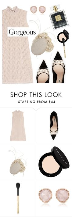 """Untitled #2844"" by deeyanago ❤ liked on Polyvore featuring Missoni, Miu Miu, Avon, Bobbi Brown Cosmetics, Monica Vinader, lady, miumiu and lacedress"
