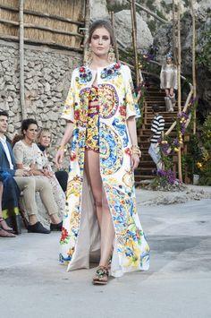 Dolce & Gabbana A/W 2014 Haute Couture show in Capri