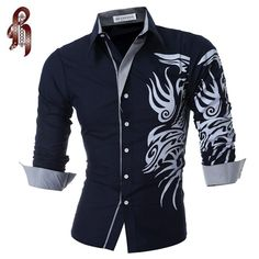 Watch this product and see why millions are pouring in HEYKESON 2017 New... a great product you can count on here http://www.costbuys.com/products/heykeson-2017-new-mens-long-sleeved-dress-shirt-dragons-mens-casual-slim-lapel-male-quality-large-size-4xl-1?utm_campaign=social_autopilot&utm_source=pin&utm_medium=pin