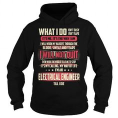 Cool Electrical Engineer Job Title - What I do Shirt; Tee