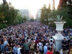 Anti-austerity Movement in Greece. Austerity, Athens, Greece, Dolores Park, People, Travel, Greece Country, Viajes, Destinations